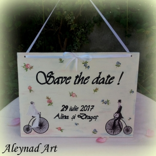 "Tablita ""Save the date"""